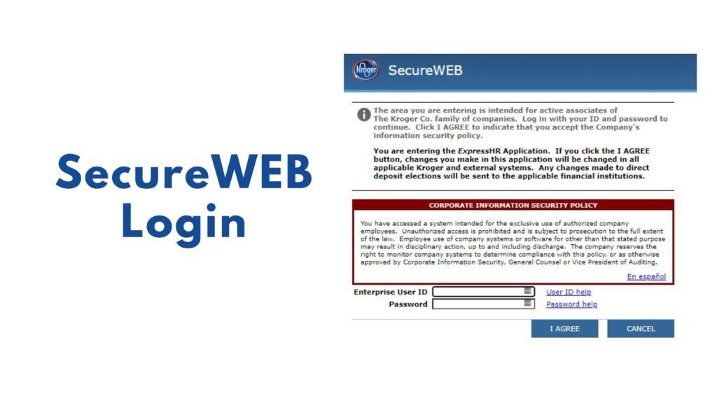 secureweb login